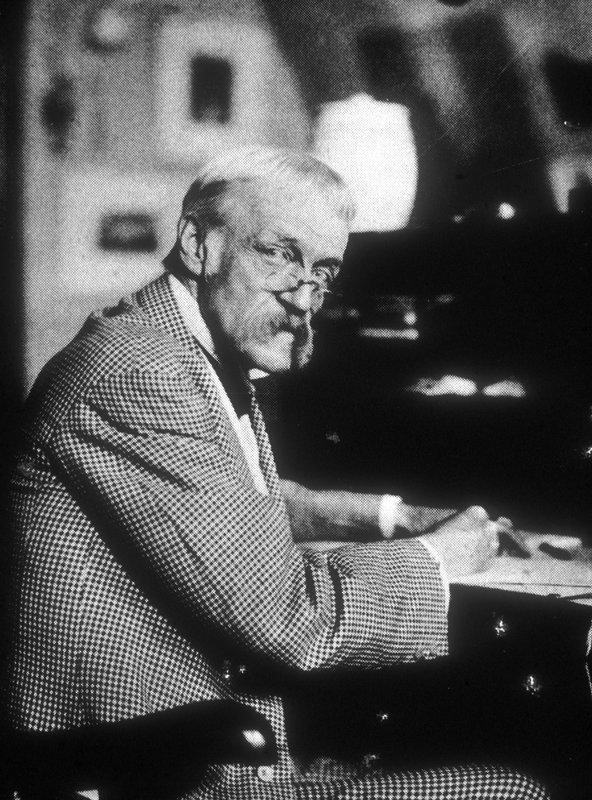 Portrait of Frank Furness
