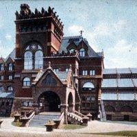 Furness - 1891 - University of Pennsylvania Library. 1891 watercolo.jpeg