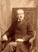 [William Pepper Jr. (1843-1898), A.B. 1862, M.D. 1854, portrait photograph]